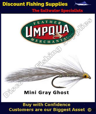 Umpqua Mini Grey Ghost Lure #10