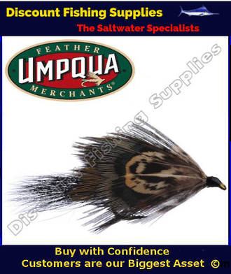 Umpqua Mrs Simpson (red) #8 Trout Fly