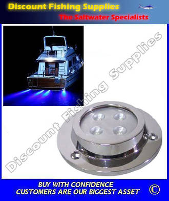 Underwater Light - Surface Mount LED Blue