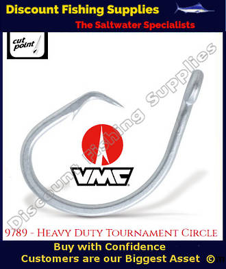 VMC Circle Non-Rev Game Hook 14/0 X 5