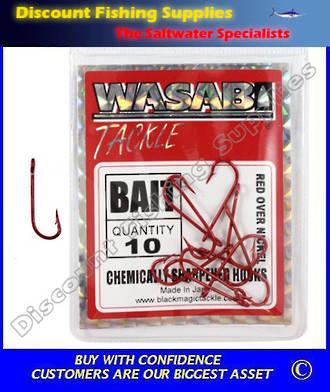 Wasabi Bait Hooks - Small Pack