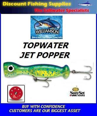 "Williamson Jet Popper - 7"" Dorado"