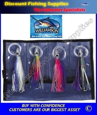 Williamson Tuna Catcher Kit - Lure Kit