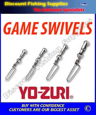 Yozuri (Duel) HB Snap Coastlock #8 Heavy Duty game Swivel