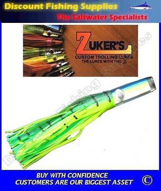 "Zuker 13"" - Vinyl Skirt Marlin Lure - ZM5.5 Dorado"