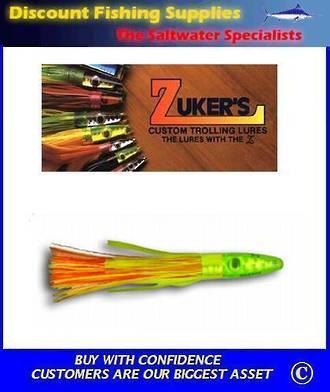 "Zuker's 6"" - Grass Trolling Lure - ZG17 (Zuchini)"