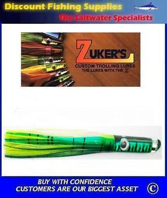 "Zuker 13"" - Vinyl Skirt Marlin Lure - ZM5 Mackerel"