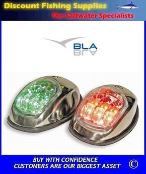 BLA LED Side mount  Navigation Lights S/S