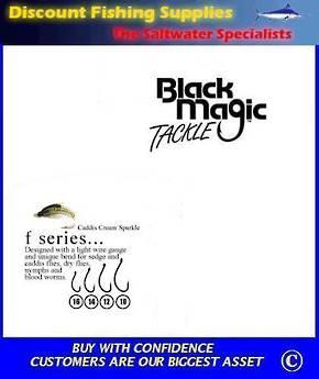 "Black Magic ""F"" Series Fly  Hooks"