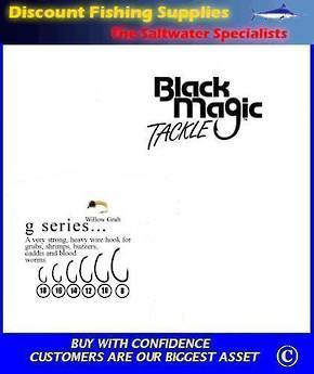 "Black Magic ""G"" Series Fly  Hooks"
