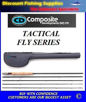 CD Tactical Fly Series Freestone Fly Rod #6
