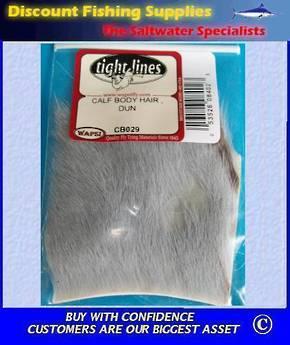 Calf Body Hair - Dun