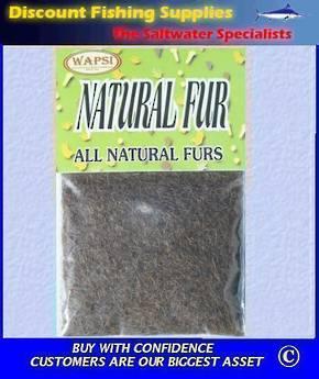 Natural Fur Dubbing - Grey Squirrel