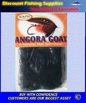 SLF Angora Goat Dubbing - Black
