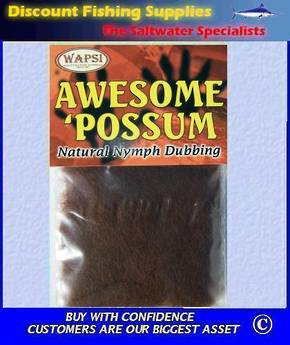 SLF Awesome Possum Dubbing - Brown