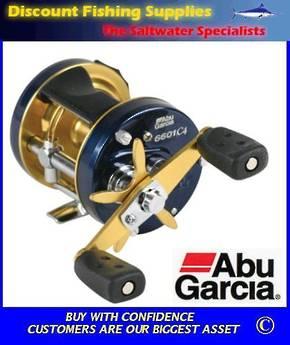 Abu Garcia Ambassadeur 6601C4 Left Handed Reel