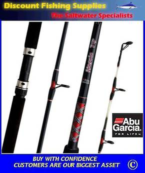 Abu Garcia Muscle Tip Spin Rod 6' 2 - 5kg 2Pc