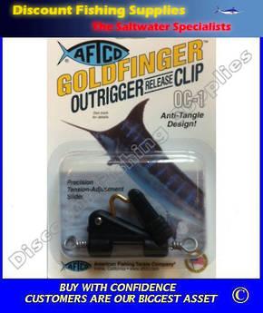 Goldfinger Outrigger Release Clip OC-1