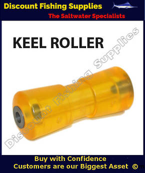 AM - Keel Roller - Yellow - 200mm x 75mm