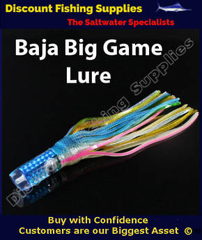 Baja Magna Big Game Lure - 300mm - Blue Gold