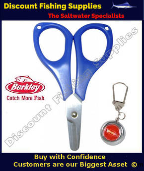 Braid/Mono Scissors With retractor
