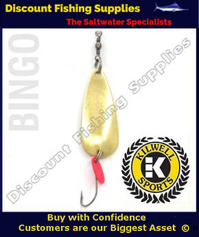 Kilwell Spinner - Bingo Gold 7g (Bulk Pack 10)