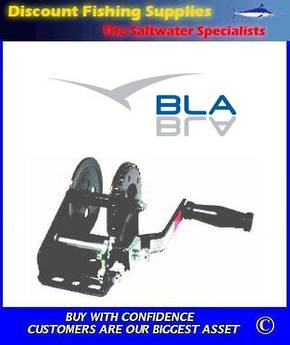 BLA Economy Winch - 3:1 Single Pawl - 270kgs