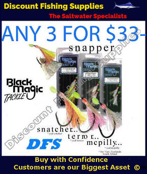 Black Magic Flasher Rigs - 3 FOR $33- DEAL