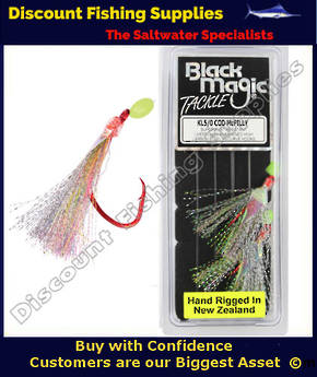 Black Magic Flasher KL5/0 Cod McPilly