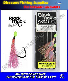 Black Magic Flasher KL5/0 Cod Terror