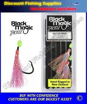 Black Magic Flasher KL5/0 Cod Terror