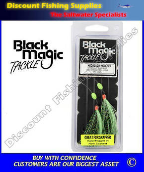 Black Magic Flasher 5/0 Moonglow Moocher