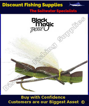 Black Magic Foam Cicada #8