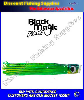 Black Magic Green Meanie - Marlin Lure