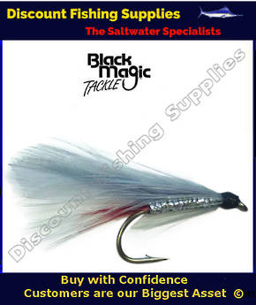 Black Magic Grey Ghost #6 Trout Fly