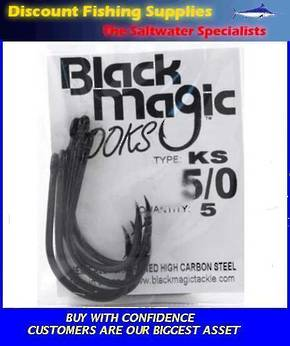 Black Magic KS Hooks - Economy Pack