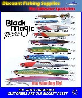 Black Magic Flutter Jig 100gr