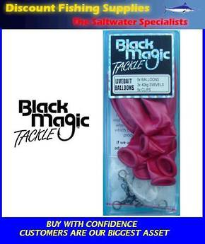 Black Magic LiveBait Balloons (5)