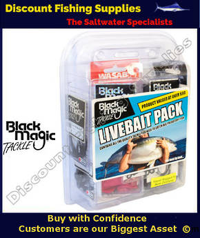 Black Magic Tackle Livebait Pack
