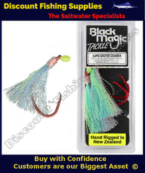 Black Magic Lumo Groper Grabber - BLUE