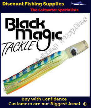 Black Magic Lumo Prowler Marlin Lure