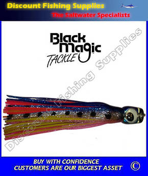 Black Magic Large Devil Lure - Pilchard