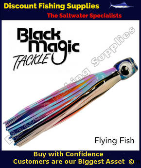 Black Magic Maggot Tuna Lure - Flying Fish (21)