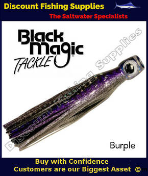 Black Magic Maggot Tuna Lure - Burple (08)