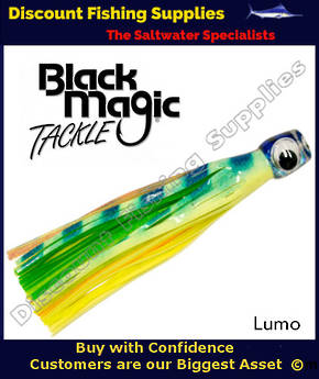Black Magic Maggot Tuna Lure - Lumo (07)