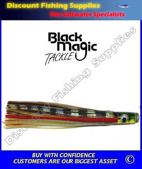 Black Magic Saury Tuna Lure - Colour 12