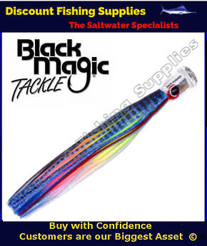 Black Magic SOFT PUSHER RANGE  - Marlin / Tuna Lure - Bad Jelly