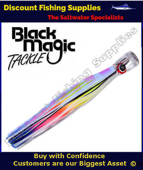 Black Magic SOFT PUSHER RANGE  - Marlin / Tuna Lure - Flying Fish