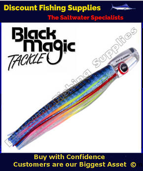 Black Magic SOFT SLAMMER RANGE  - Marlin / Tuna Lure - Bad Jelly