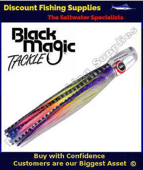 Black Magic SOFT SLAMMER RANGE  - Marlin / Tuna Lure - Hell Raiser